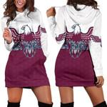 Warringah Women Hoodie Dress Sea Eagles