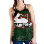 Rabbitohs Women Racerback Tank Aboriginal 2 TH4