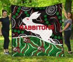 Rabbitohs Premium Quilt Aboriginal TH4