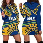 Parramatta Hoodie Dress Eel K4