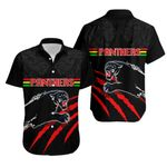Panthers Hawaiian Shirt Claw