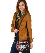 Dragons Leather Saddle Bag St. George Indigenous Black K4