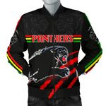 Panthers Men's Bomber Jacket Claws