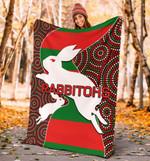 Rabbitohs Premium Blanket