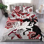 Dragons Bedding Set St. George Indigenous White | Ruglylife.co