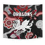 Dragons Tapestry St. George Indigenous Black K4