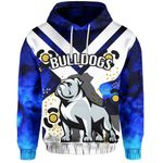 Bulldogs All Over Hoodie Warrior Man 2