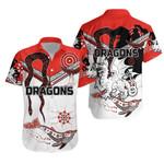 Dragons Hawaiian Shirt St. George Aboriginal White TH5