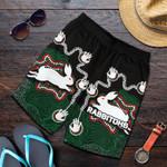 Rabbitohs All Over Print Men's Shorts Aboriginal 2