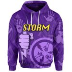 Melbourne All Over Hoodie Storm
