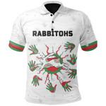 Rabbitohs Indigenous Polo Shirt Animals Aboriginal