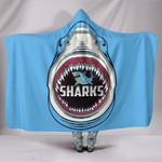 Sharks Rugby Hooded Blanket K4