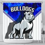 Bulldogs Shower Currtain TH4