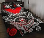 ST.George Quilt Bed Set Aboriginal