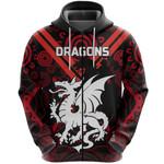 Dragons Zip Hoodie St. George Aboriginal TH5