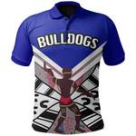 Bulldogs Polo Shirt Warrior Man