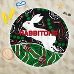 Rabbitohs Beach Blanket Aboriginal TH4