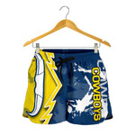 Cowboys All Over Print Women's Shorts