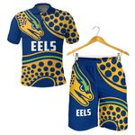 Combo Polo Shirt and Men Short Parramatta Eels K4