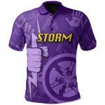 Melbourne Polo Shirt Storm