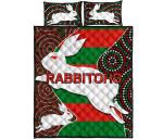 Rabbitohs Quilt Bed Set
