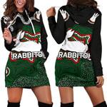 Rabbitohs Women Hoodie Dress Aboriginal 2 TH4