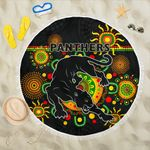 Penrith Beach Blanket Indigenous Panthers - Black K8