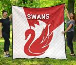Sydney Premium Quilt Swans K8