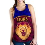 Brisbane Lions Women Off Shoulder Sweater Powerful