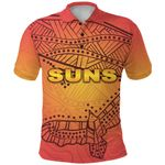 Gold Coast Polo Shirt Suns Simple Indigenous