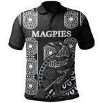 Magpies Polo Shirt Aboriginal