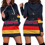 Adelaide Women Hoodie Dress Original Crows K8
