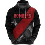 Essendon Hoodie Indigenous Bombers - Black