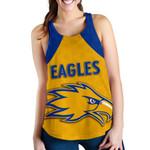 Eagles Women Racerback Tank West Coast - Gold