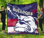 Western Bulldogs Premium Quilt TH4