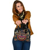 Adelaide Shoulder Handbag Indigenous Crows K8