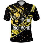 Richmond Polo Shirt Tigers Dotted