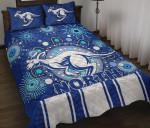 Melbourne Quilt Bed Set Indigenous North Kangaroos K8