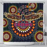 Adelaide Shower Curtain Indigenous Crows K8