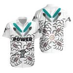 Port Adelaide Hawaiian Shirt Power Indigenous