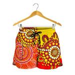 Gold Coast All Over Print Women's Shorts Sun Aboriginal