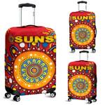 Gold Coast Luggage Covers Suns Indigenous K8