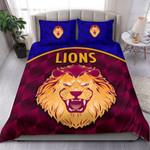 Brisbane Lions Bedding Set Powerful K8