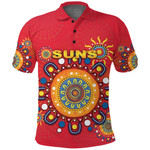 Gold Coast Polo Shirt Suns Indigenous