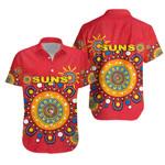 Gold Coast Hawaiian Shirt Suns Indigenous