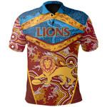 Brisbane Lions Polo Shirt Indigenous