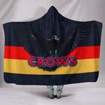 Adelaide Hooded Blanket Original Crows K8