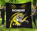 Richmond Premium Quilt Tigers K8