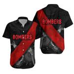 Essendon Hawaiian Shirt  Indigenous Bombers - Black