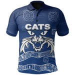 Cats Polo Shirt Aboriginal